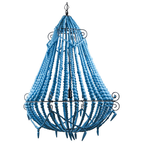 Beaded Chandelier - Turquoise
