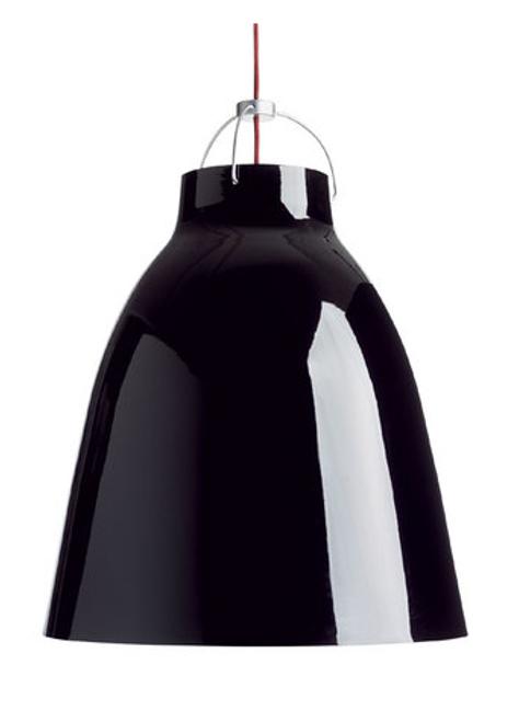 Replica Cecilie Manz Caravaggio Pendant - Gloss Black