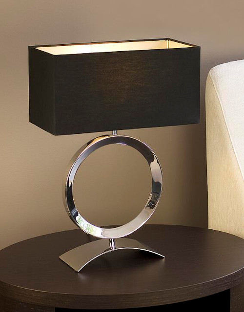 Delta Black Table Lamp