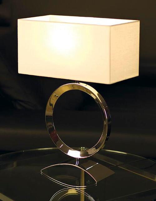Delta White Table Lamp by Viore Design