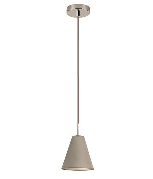 Cone Concrete Pendant - Small