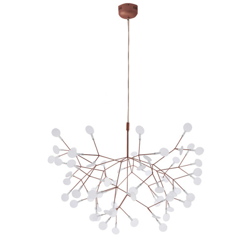 Replica Heracleum Large Pendant Light in Copper