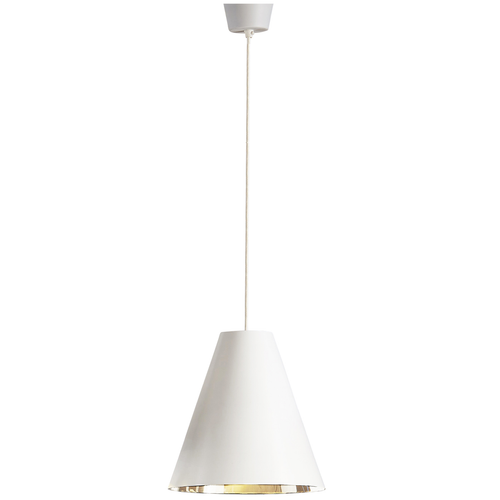 Conrad Cone White Pendant Light