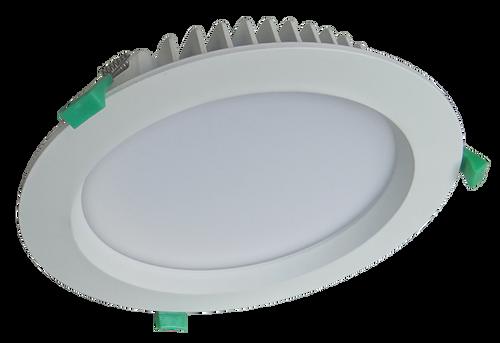 Saturn 30W LED Downlight kit White finish