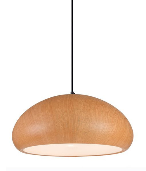 Stockholm Dome Pendant Light - Cherry Golden Oak