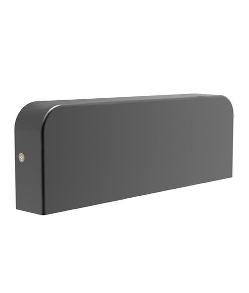 Cook LED Exterior Surface Mounted Wall Light - Dark Grey