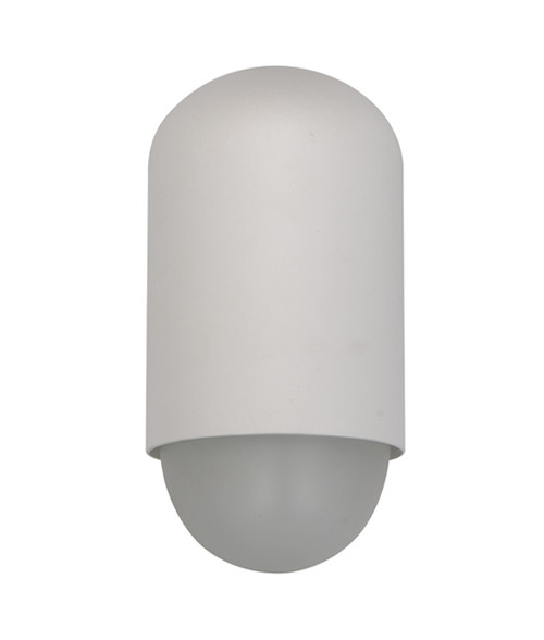 Bullet Exterior Wall Light - Matte White