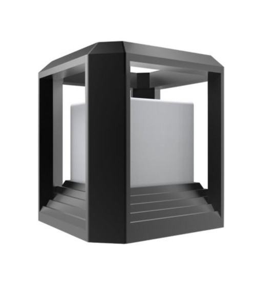 Cube Wall / Floor LED Lamp - Matte Black