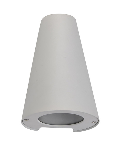 Token Exterior Cone Wall Light - Matte White