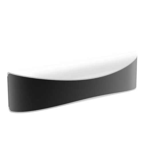 Aero LED Exterior Surface Mounted Wall Light - Dark Grey