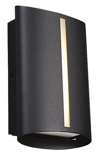 Slick Modern Exterior LED Wall Light
