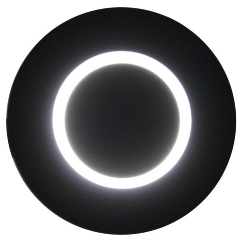 Astro Black Wall Light