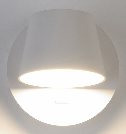 Bask LED Interior 1 Light Wall Light - White