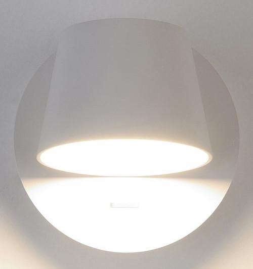 Bask LED Interior 1 Light Wall Light - White