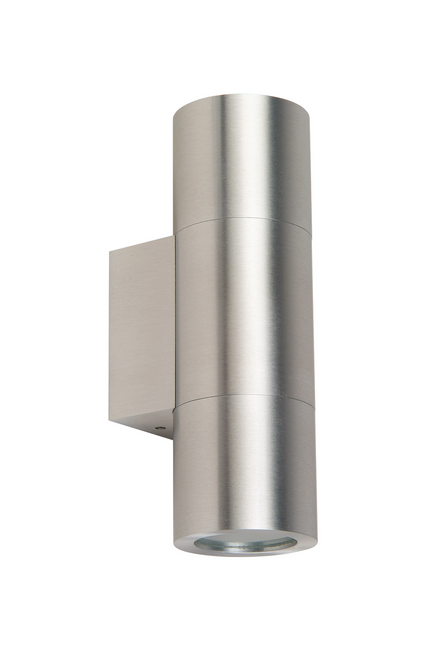 Modern Sleek Up Down Pillar Exterior LED Wall Light