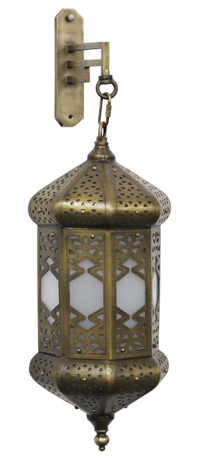 "BRASS WALL SCONCE ""MERZOUGA"""