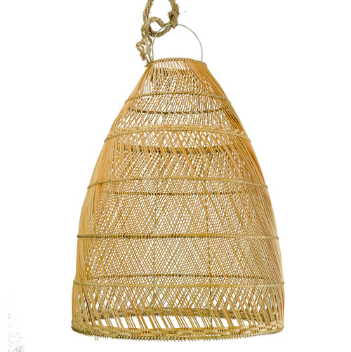 BELL SHAPED PENDANT -  NATURAL
