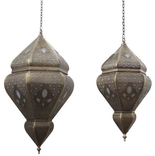 Fes Brass Pendant Light