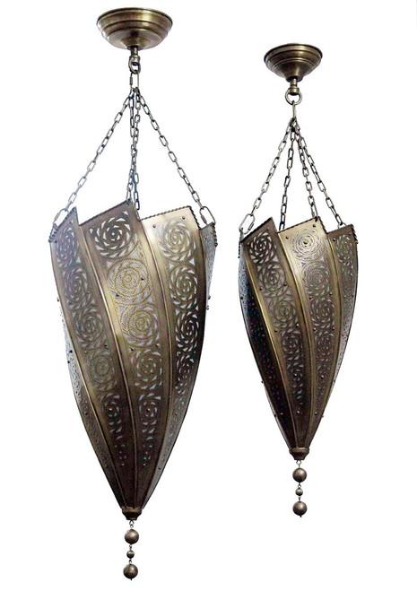 Taroudant Brass Pendant Light