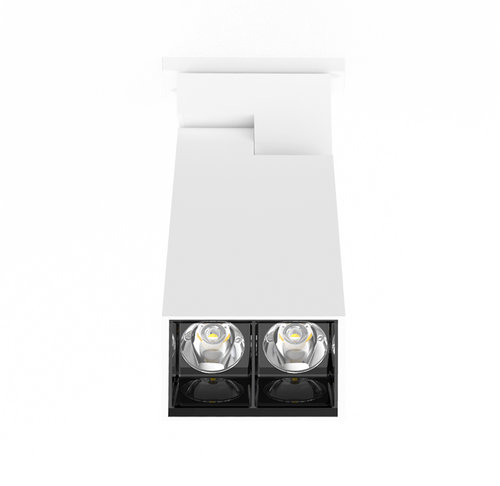 The D400 SHX Linear LED Downlight - White