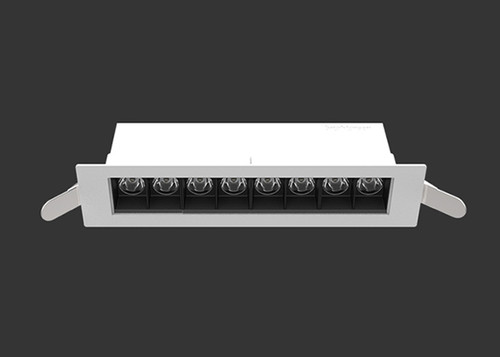 The D900 Linear LED Downlight-White