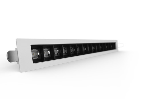 The D2000 Linear LED Downlight-White