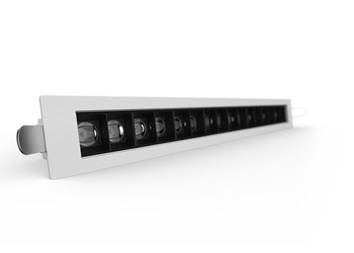 The D2000 Linear LED Downlight-White