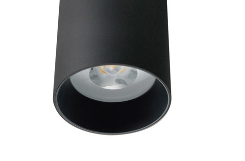 D2000 SHX Curve LED Downlight-Black