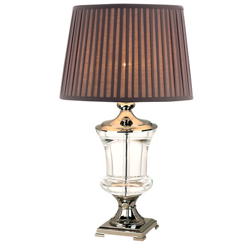 Genora Crystal Table Lamp-Mocha