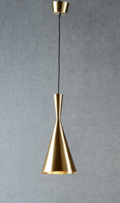 Cava Antique Brass Pendant Light