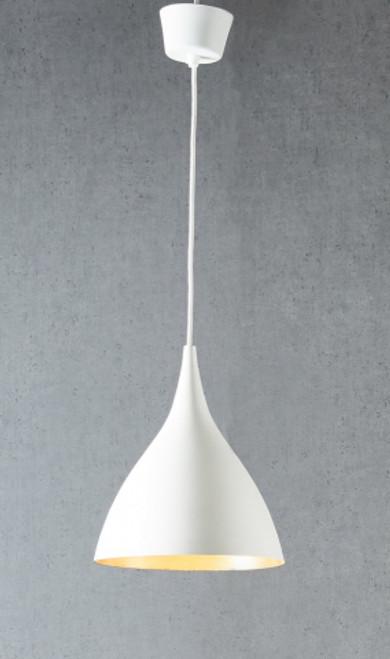 Maca Drop White Pendant Light