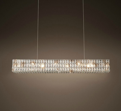 Euston 6 Light Rectangular Chandelier