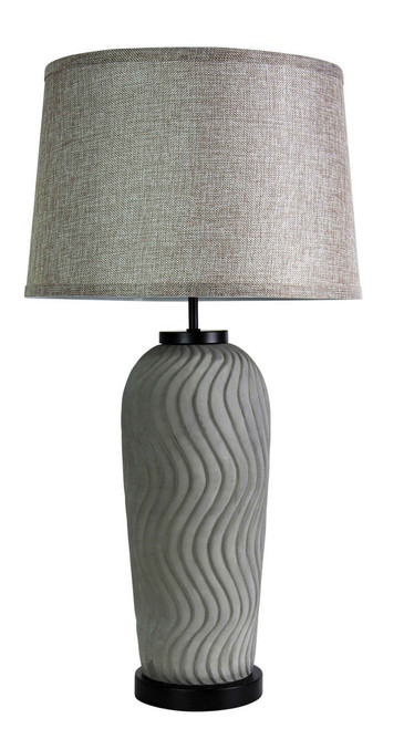 Neutral Concrete Table Lamp
