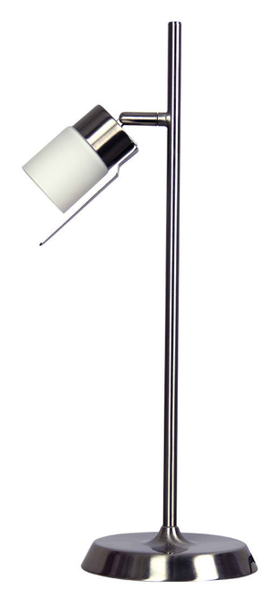 Alexis Touch Lamp - Brushed Chrome
