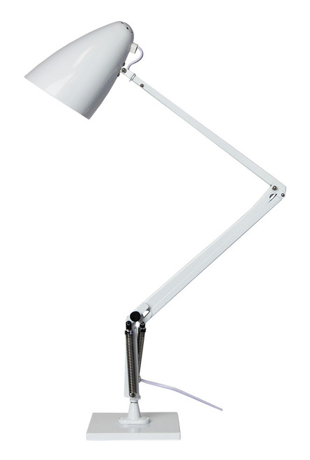 Funky Retro Desk Lamp-White