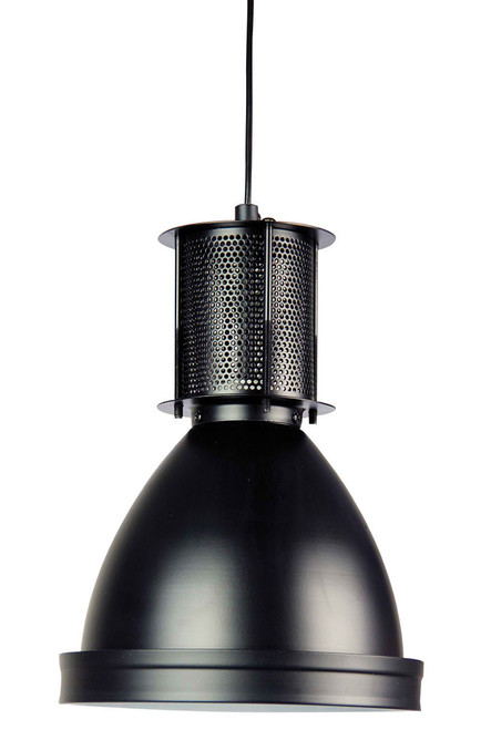 Bay 19 Black Industrial Pendant Light