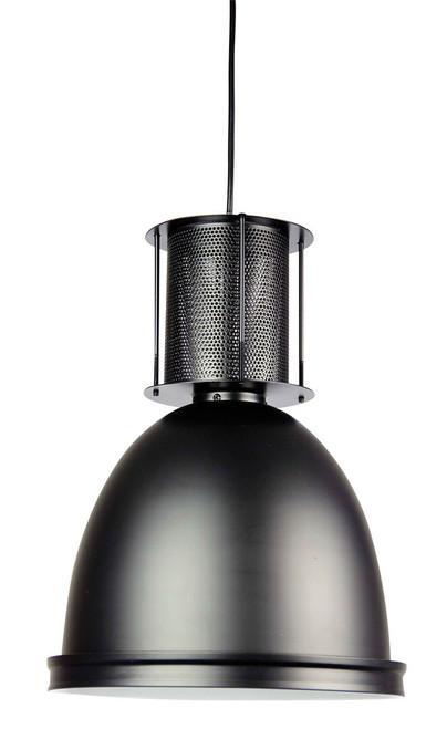 Bay 28 Black Industrial Pendant Light