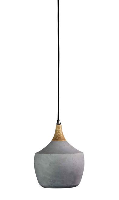 Concrete Pot Pendant Light