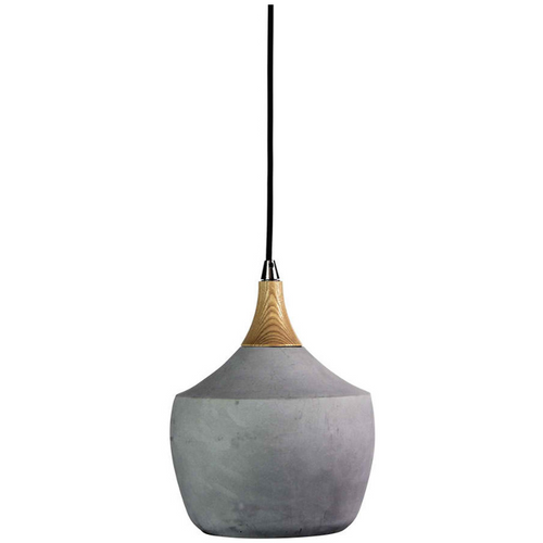 Concrete Pot Pendant Light - Main