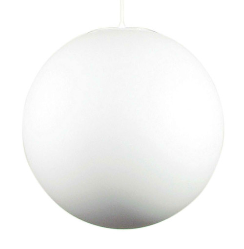 Opal White Glass Pendant Light-Large