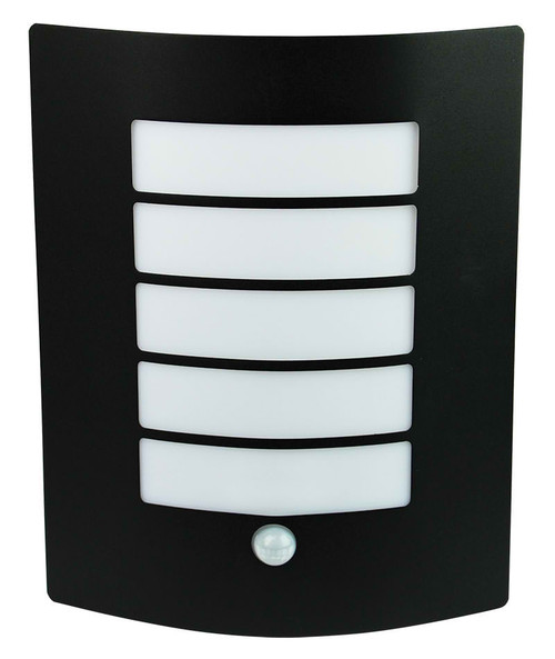 Che Outdoor Sensor Wall Light-Black