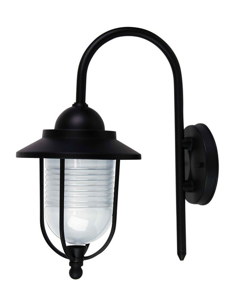 Madrid Coach Exterior Wall Light-Black