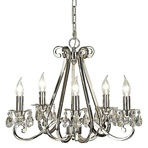 Luxuria 5 Light Candle Chandelier