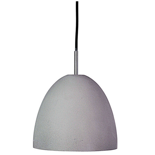 Bell Cement Pendant Light