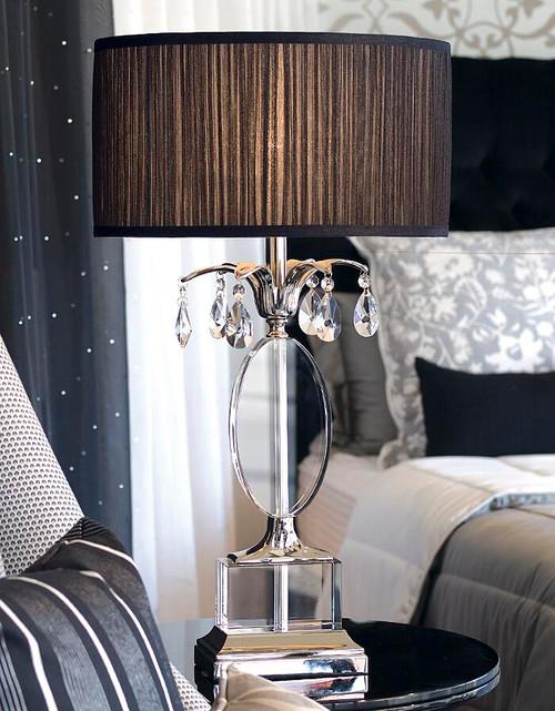 Orlov Black Table Lamp