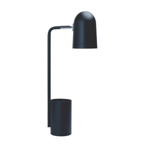 Keegan Pen Holder Desk Lamp - Sand Black