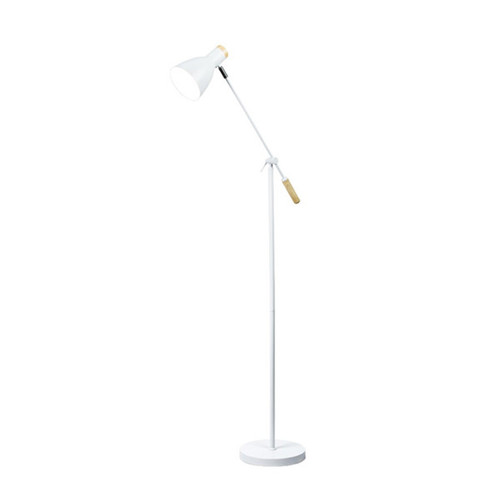 Scandinavian Adjustable Floor Lamp - White