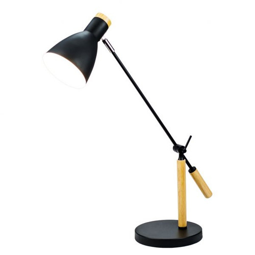 Scandinavian Adjustable Desk Lamp - Black