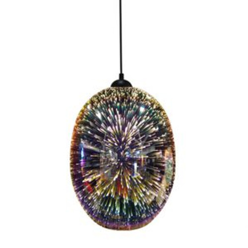 Moravian Psych Pendant Light - Chrome