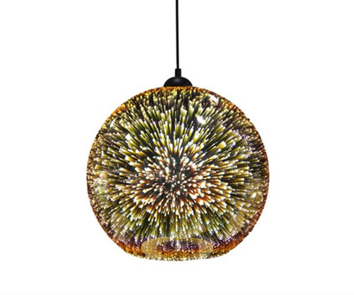 Javarone Round Pendant Light - Copper